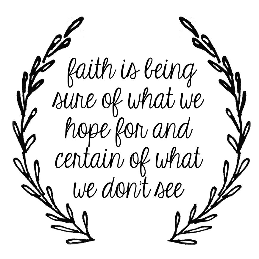 Image result for Hebrews 11:1