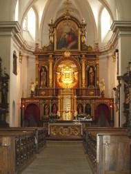 Altar at the church