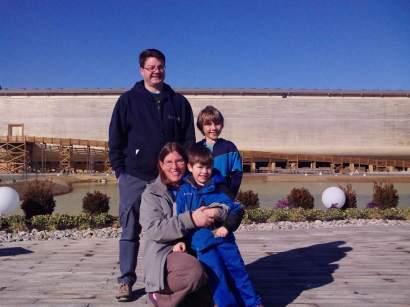 Family at Ark