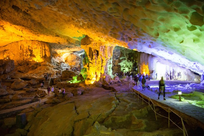 Halong Bay-caves-Where the Dragon Descends to the Sea-moments of yugen
