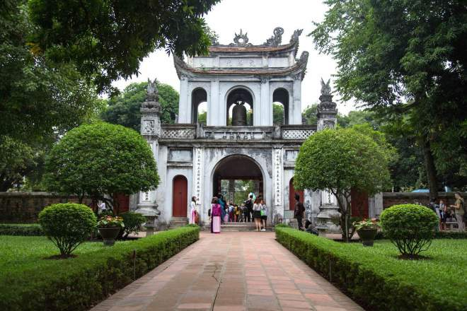 Hanoi-Temple of literature
