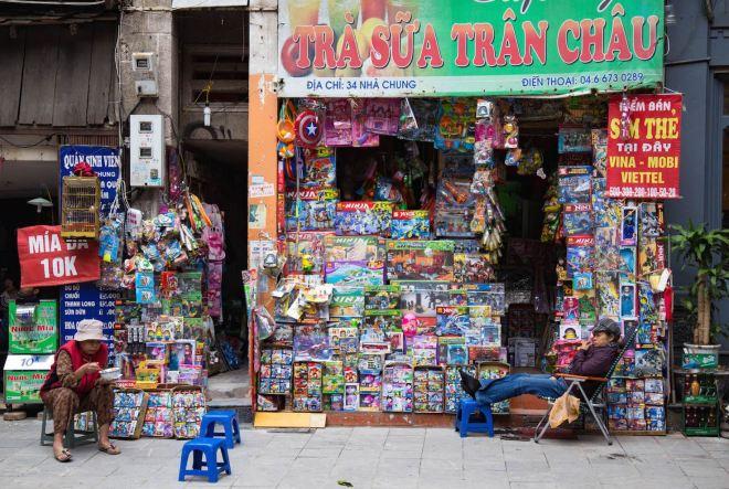Hanoi-moments of yugen- Old Quarter Street