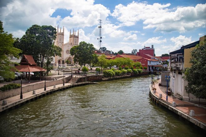 Malacca and its people-riverfront-momenst of yugen