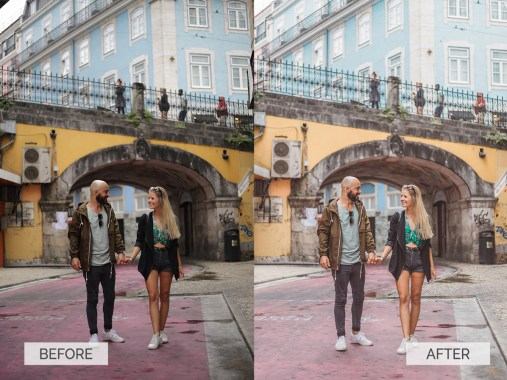 Europe Collection Lightroom Presets