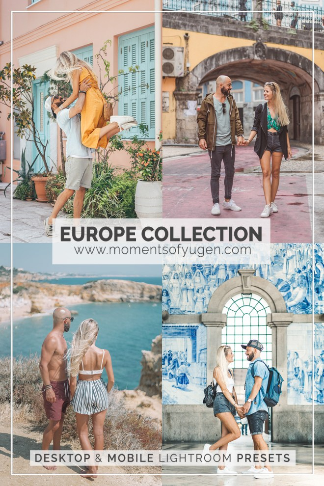Europe Collection - Desktop & Mobile Lightroom Presets