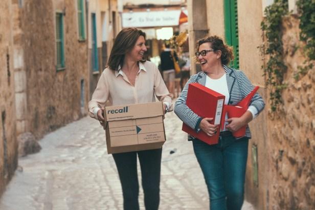 Lourdes y Ana