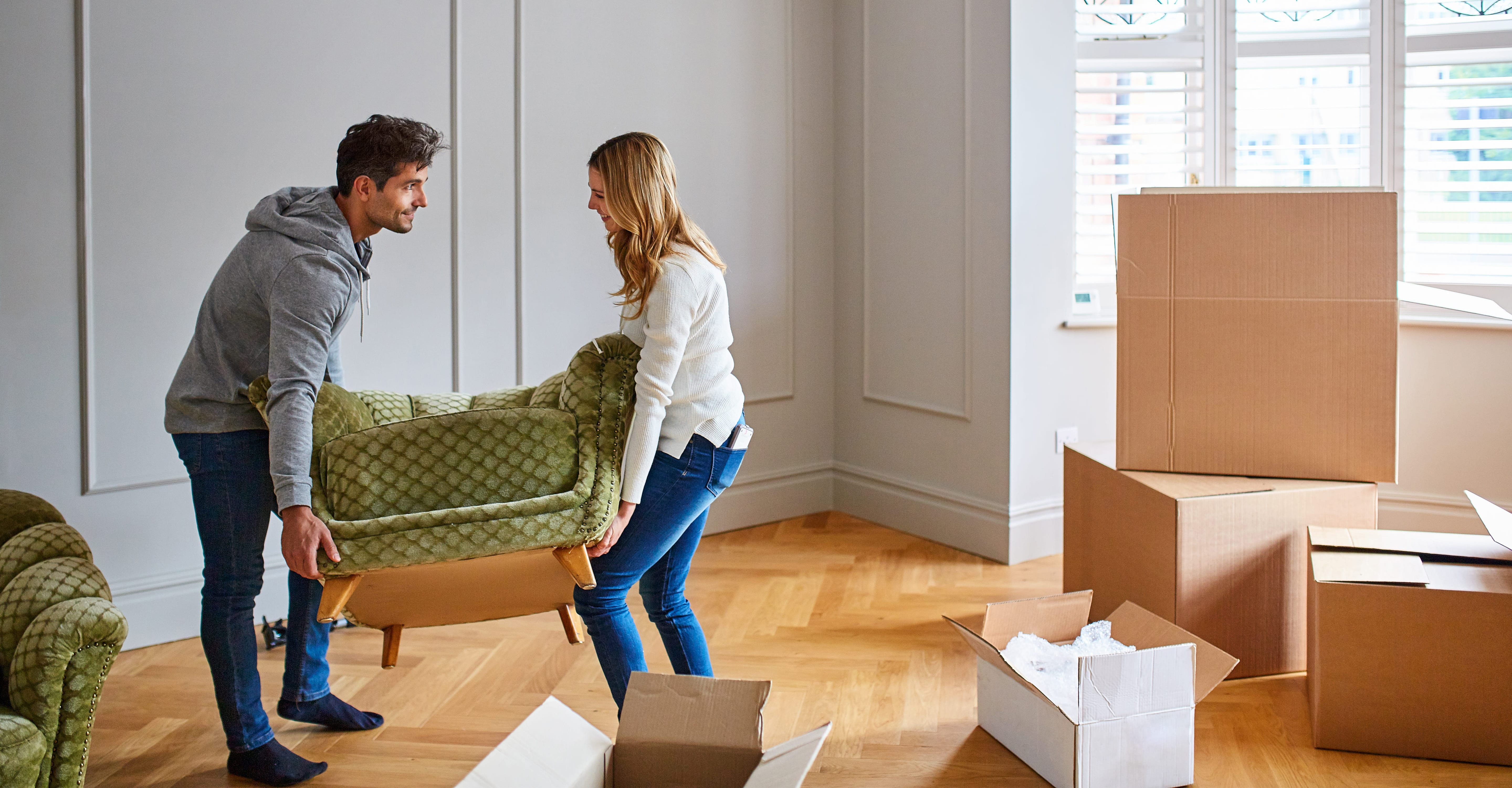 Moving day could be closer than you think.