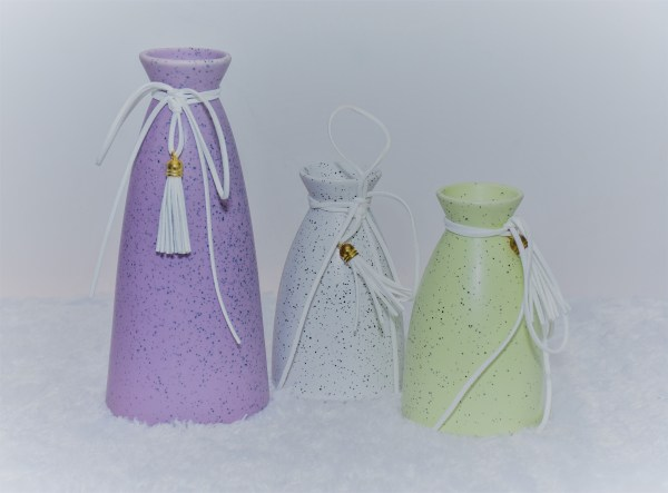 Designer Vase with Wires 1