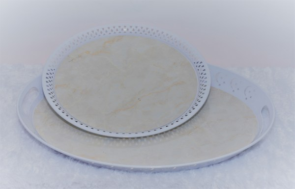White Tray Set 1