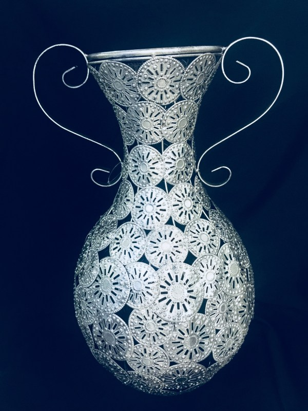 Decorative Silver Vase 1