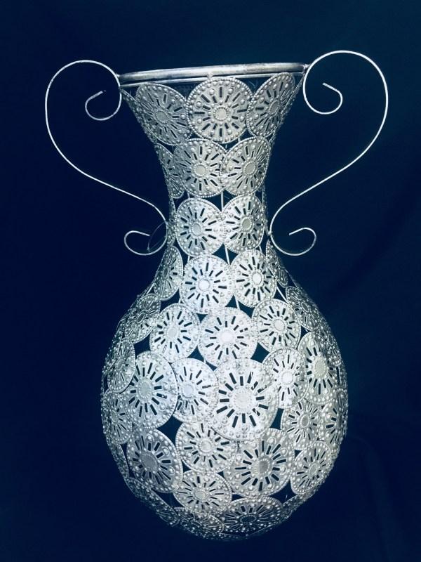 Decorative Silver Vase 1