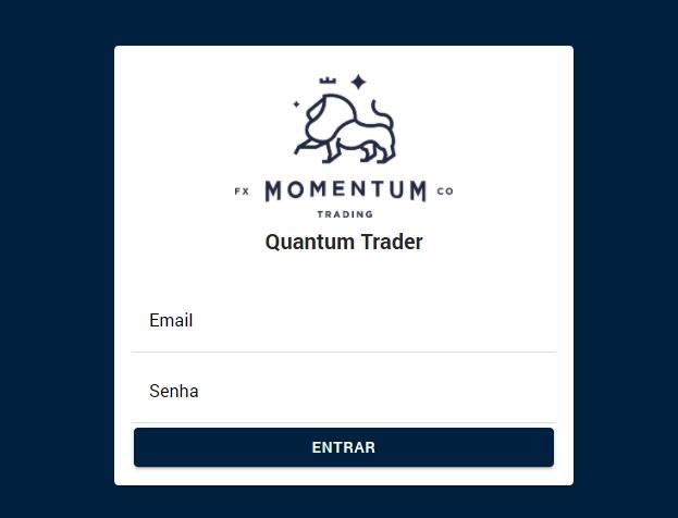 tela login quantum trader