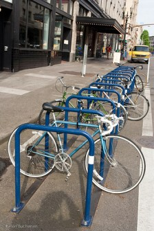 On-street bike parking