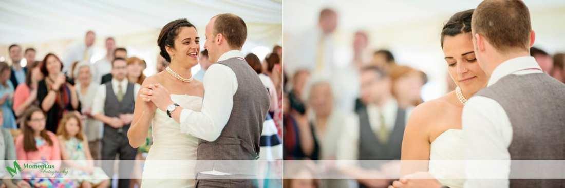 Fort Belan Wedding -  first dance