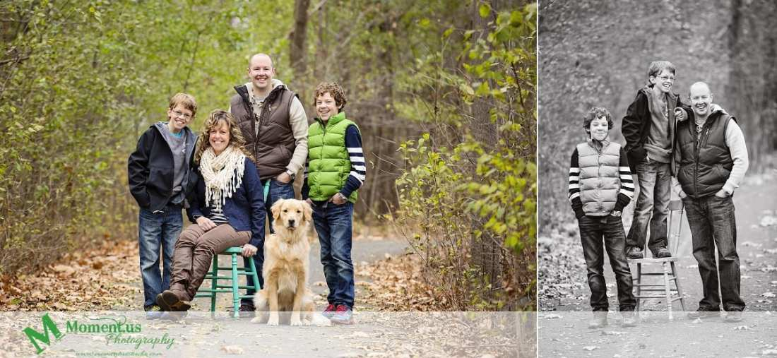 Moment.us Photography - Cornwall Family Photos with chair on bike path