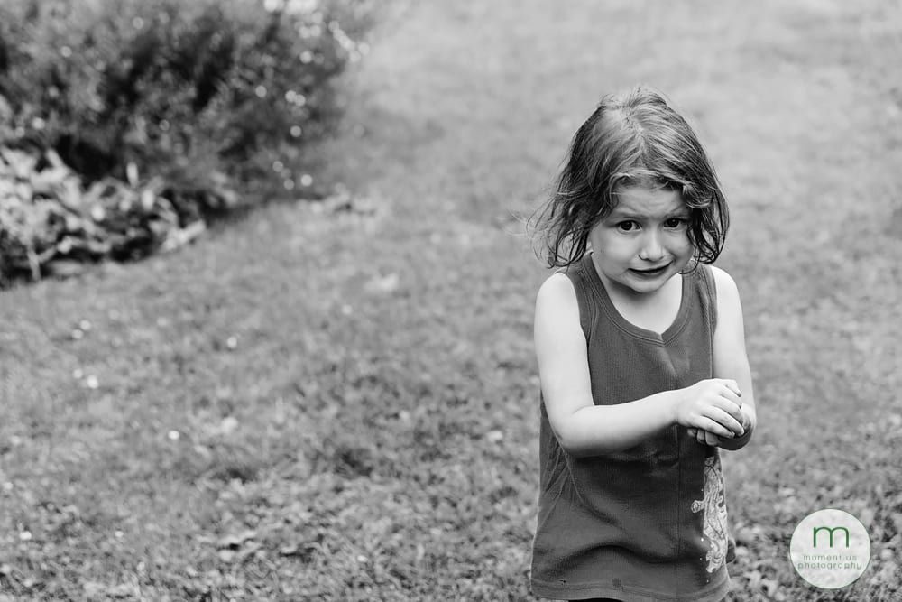 Cornwall girl holding cricket