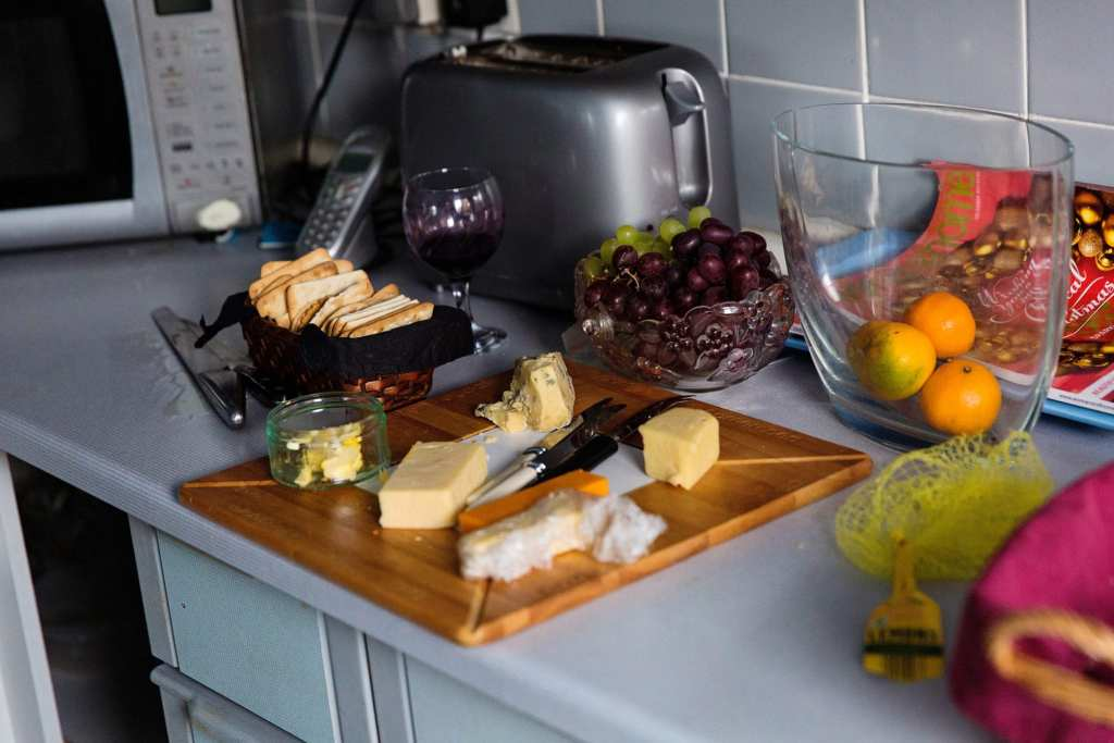 Cheeseboard for Manchester family lunch