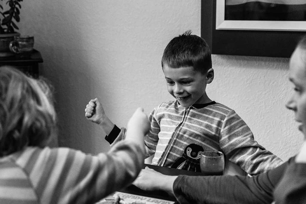 boy wins Candyland
