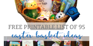 easter basket ideas for kids mom envy