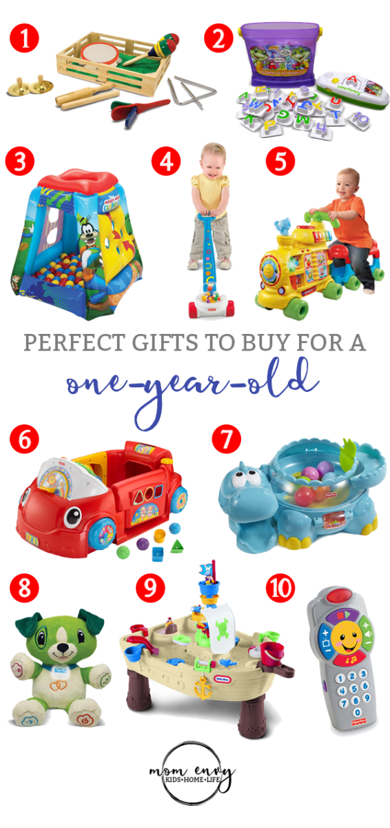 Gifts for a One Year Old (10 Perfect Gift Ideas)