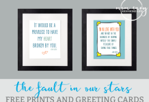 fault in our stars mom envy free prints and cards