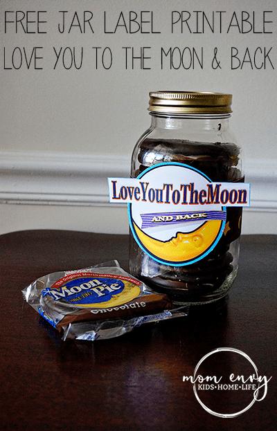 moon pie mason jar free printable label mom envy