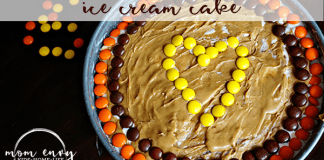 peanut butter explosion ice cream cake recipe mom envy