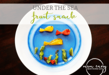 under the sea fruit snack mom envy