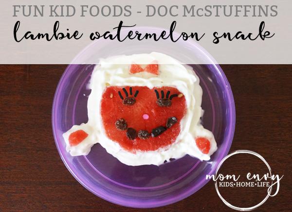 lambie watermelon snack mom envy kids snack