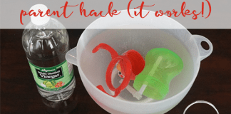 sippy cup cleaning parent hack mom envy