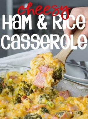 leftover ham recipes leftover ham and rice casserole you wash I dry