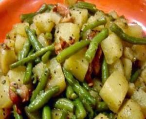 leftover ham recipes just a pinch potatoes green beans ham