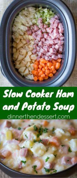 leftover ham recipes dinner then dessert slow cooker ham soup