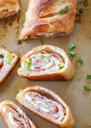 leftover ham recipes the girl who ate everything ham and swiss stromboli