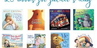 Children's Books for Father's Day. 15 Books about Dads and 5 books about Grandpas that are guaranteed to bring a tear to their eye.