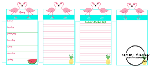 Flamingo and Summer Planner Inserts Mom Envy. Flamingo planner inserts. Flamingo planner clips. Free Happy Planner printables. Free Happy Planner Inserts. Free Happy Planner Flamingo. Free Happy Planner Summer. Free Pineapple paper clip.