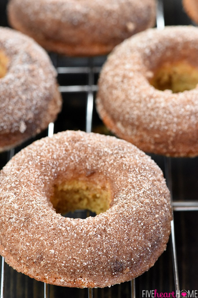 Apple-Cider-Whole-Wheat-Baked-Donuts-Recipe-by-Five-Heart-Home_From Five Heart Home
