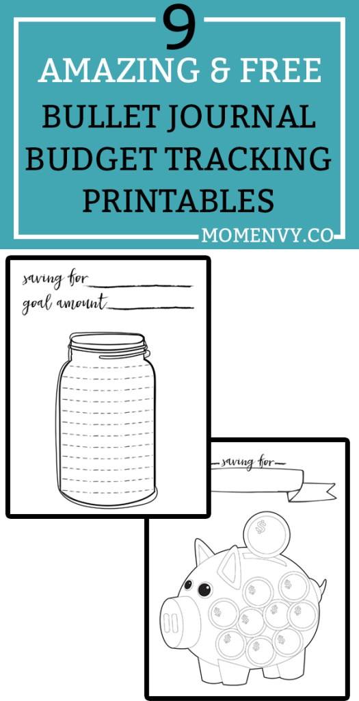 free budget planner printables 9 free bullet journal style printables