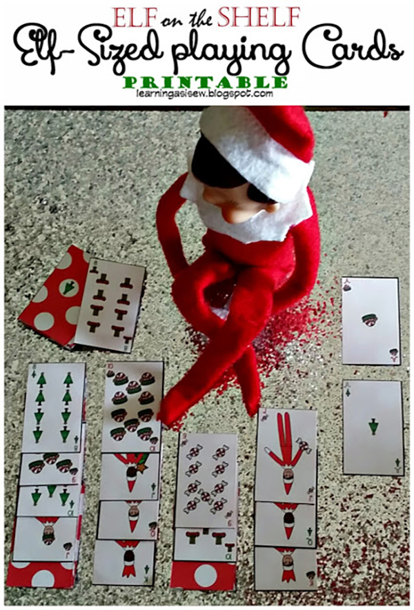 25 Free Elf on the Shelf Printables