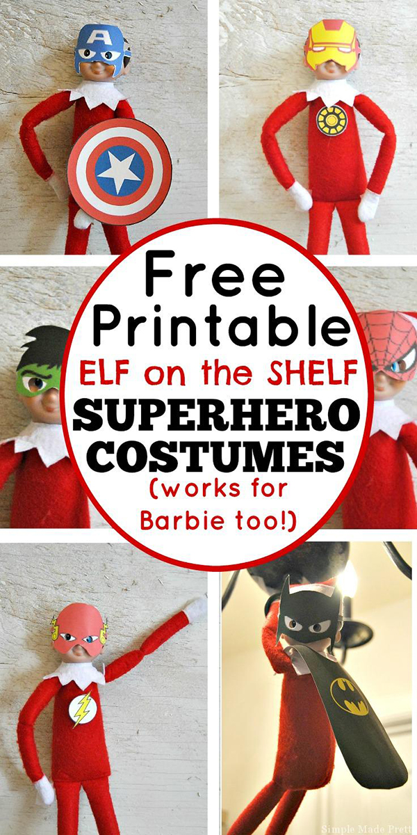 It's just a graphic of Epic Elf on the Shelf Free
