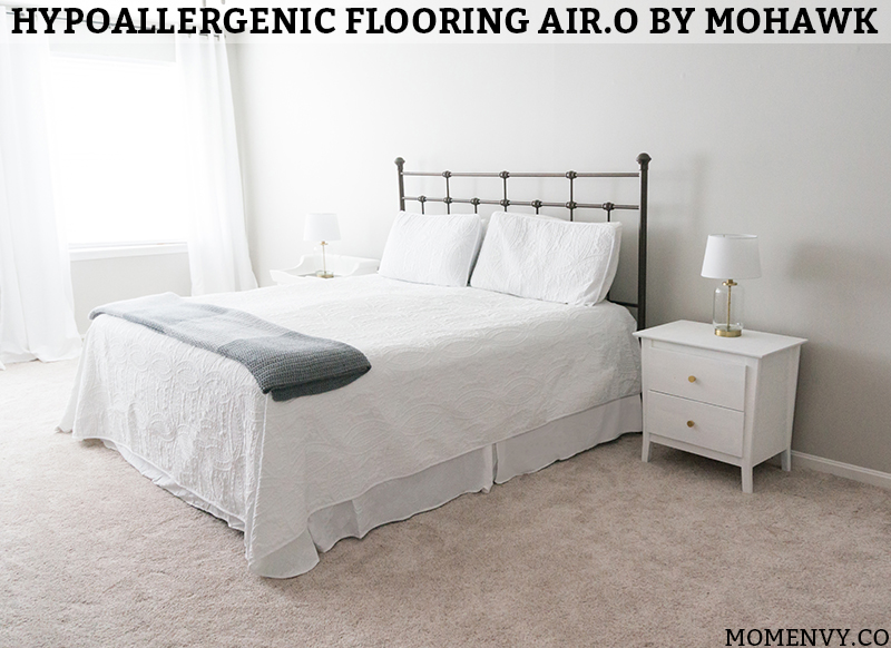 Updating a master bedroom with air o soft flooring by mohawk - Best bedroom flooring for allergies ...