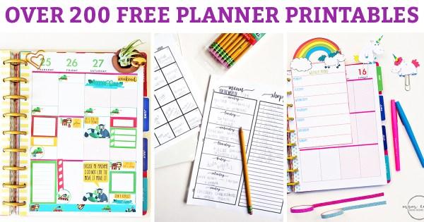 free printables planner # 14