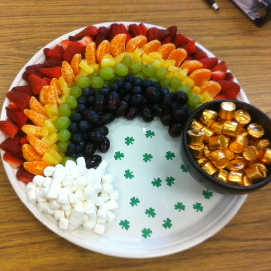 Great after school St. Patty's Day snack.