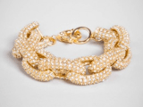 Obsession This Week: Pave Links Bracelet