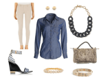 Fashion Fun Denim: Feeling Blue? Cold Winter Days!