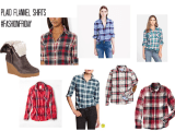 The Mom Uniform a Plaid Flannel Shirt #FashionFriday