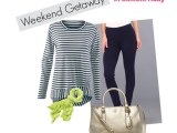 Weekend Getaway Travel Outfit #FashionFriday