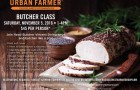 Urban Farmer, Cleveland Steakhouse – Butcher Class on Saturday, November 5th from 1:00 p.m. – 4:00 p.m.