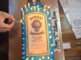 Bombay Sapphire 40th Birthday Cake from Michael Angelo's Bakery, Broadview Heights