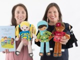 Kids Embrace Inclusion With Huggable Rag Dolls ~ SELMA'S DOLLS